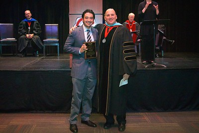 THE SPORT MANAGEMENT AWARD goes to a senior in the Sport Management program who has maintained a grade point average above 3.40 and who demonstrates leadership in sport management, professionally enhances the sport management program, and demonstrates promise in the sport management field. The recipient of this award is Carlo Emmanuel Jimenez.