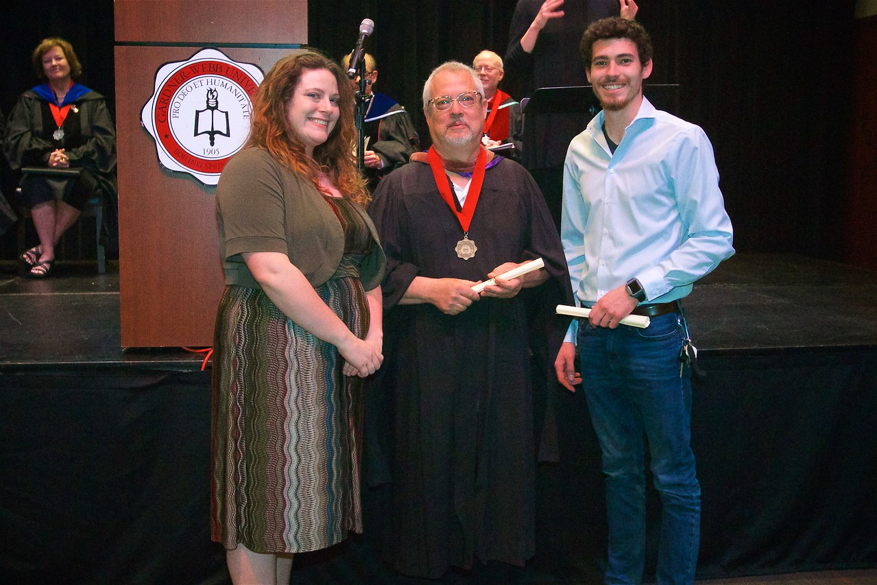DR. BONNER'S PRESIDENTIAL PURCHASE AWARDS IN THE ARTS allows the Visual Arts Department to award annual purchase awards for work exhibited in the Undergraduate and Senior Art Exhibits. Honorable Mention: Myla Davidson Keever and Frank Alexander Stewart.