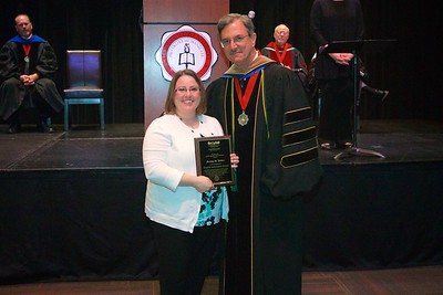 THE BROYHILL ACHIEVEMENT AWARD is given to a senior in a business-related program within the College of Distance Learning and Continuing Education.   This recipient achieved his/her goal of academic excellence by successfully meeting the wide array of life's challenges that are inherent in pursuing a career and a degree.  The recipient of this year's award is Melisa Dianne Walker.