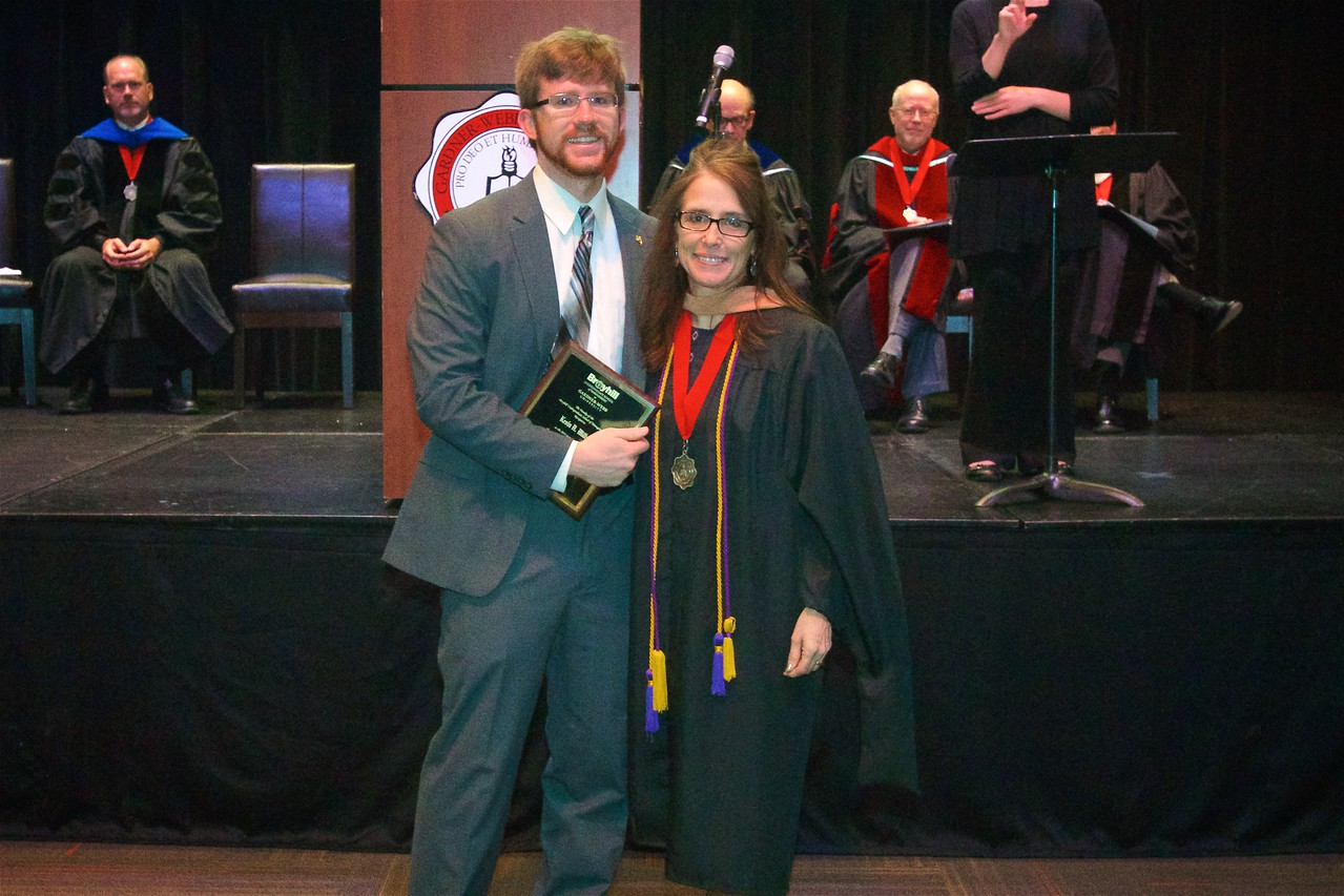 THE ACCOUNTING AWARD is presented to Kevin Alexander Mills.