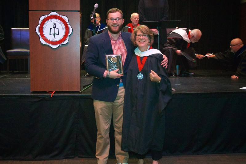 THE GLOBAL STUDIES AWARD – Goes to a student who has shown academic excellence, service, and leadership in the pursuit of global understanding, as examined through the multidisciplinary work of Global Studies. The award is presented to Isaac Watson Pearson.
