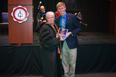THE JOHN AND LINDA GODBOLD AWARD is given to the student who best exemplifies faith, discipline, and service.  Because of the combined commitment to these values from the Godbolds and the Godbold School of Business Faculty, this award is considered one of the most prestigious awards given by the Godbold School of Business. Nominations were solicited from faculty, staff, and students.  This year's recipient is Connor James Bos.