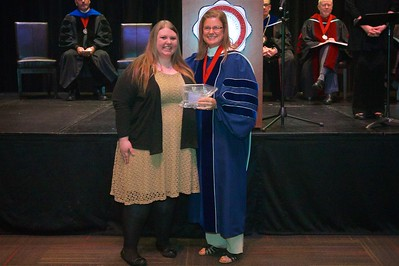 THE SECONDARY STUDENT TEACHING AWARD  Is presented to Emily Renee Lewis.