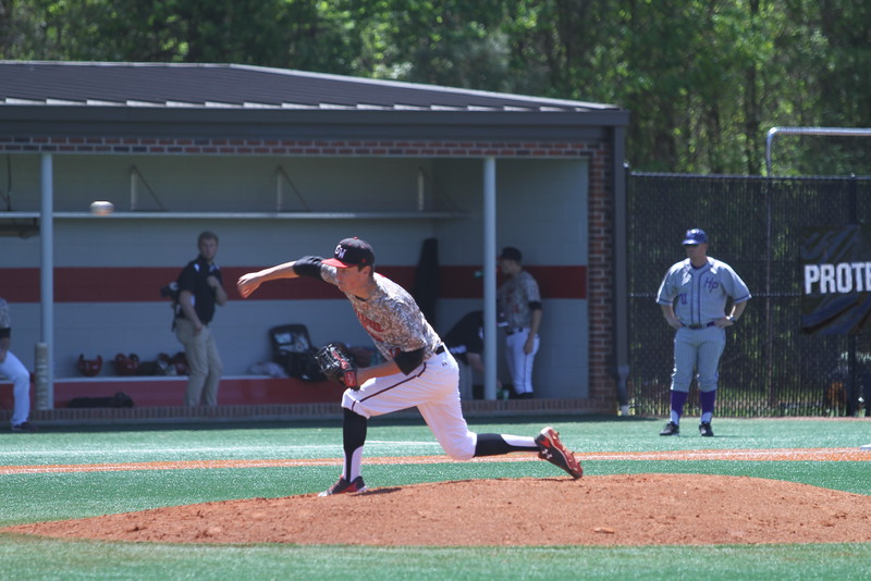 Gardner-Webb Baseball took on High Point in the last of a three game series. #14 Bradley Hallman was the opening pitcher for Gardner-Webb
