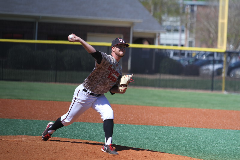 Gardner-Webb Baseball took on High Point in the last of a three game series. #24 Wil Sellers took over to pitch the middle of the game.