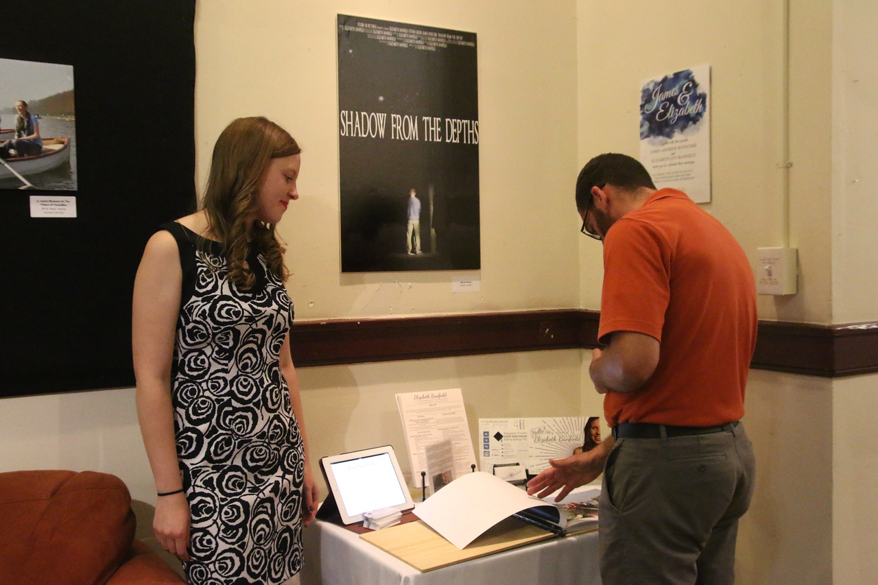 GWU-Today photographer and photojournalism major, Elizabeth Banfield, talks about her designs.