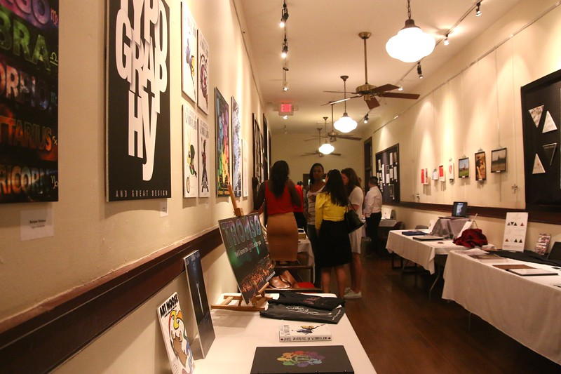 On Thursday, April 21st, the Department of Communications & New Media hosted their annual Senior Show which shows off the work of the graduating class of 2016.