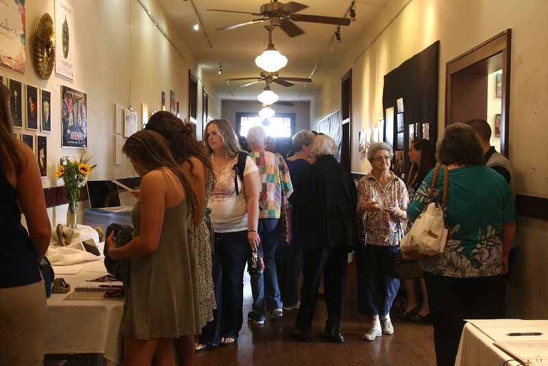 The halls were filled with students, friends, family, professors, and community members.