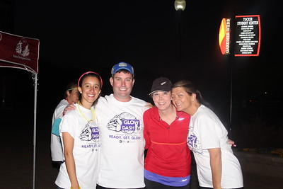 Photo by Tessa Walsh Participants of the run came from the student body and the community