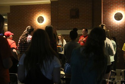 Many students came to support the cause and spent a night in prayer and worship.