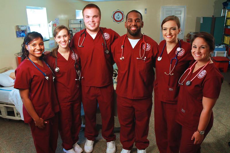 GWU Nursing Photo Shoot; Fall 2014.