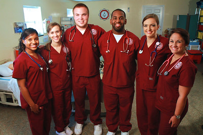 GWU Nursing Photo Shoot; Fall 2014.