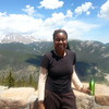 Ayanna Reed at the Rocky Mountain National Park trip