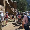 RESESS and Geo-Launchpad interns participate in a Front Range Geology field trip led by University of Colorado Boulder graduate students and faculty. Boulder, Colorado (Photo/Kelly Billings, UNAVCO)