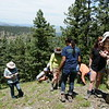 RESESS and Geo-Launchpad interns participate in a Front Range Geology field trip led by University of Colorado Boulder graduate students and faculty. Boulder, Colorado (Photo/Kelsey Russo-Nixon, UNAVCO)