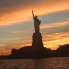 Independence Day visit to the Statue of Liberty in New York City.<br /> Photo Credit: Crystal Burgess
