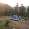 Camping in Poudre Canyon, Larimer County, CO