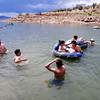 SAGE students relaxing on their day off at Abiquiu Lake, NM