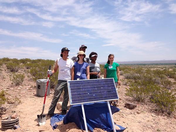 Seismometer Deployment Team (Photographer: Michael Hubenthal)