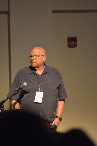 Bob Carey, Professor at Gardner-Webb University giving insight to his work on his sabbatical trip.