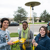 RESESS interns learn about geodesy and GPS for science from UNAVCO polar field engineer Annie Zaino at the UNAVCO Boulder facility on Friday, May 27, 2016. (Photo/Beth Bartel, UNAVCO)