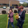 RESESS interns learn about geodesy and GPS for science from UNAVCO staff at the UNAVCO Boulder facility on Friday, May 27, 2016. (Photo/Beth Bartel, UNAVCO)