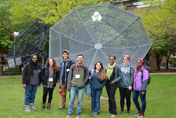 2016 RESESS intern group photo. NCAR Foothills Laboratory, Boulder, Colorado (Photo/Aisha Morris, UNAVCO)