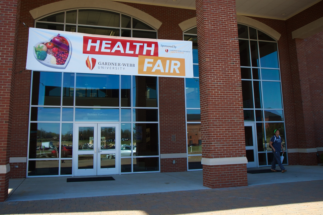 GWU Health Fair; Spring 2016