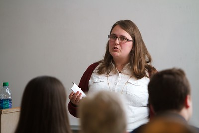 Gardner-Webb University's Life Of The Scholar (LOTS) participants present their thesis projects; Spring 2016. Elizabeth Moore, The Contingency of Appalachia on Our Mind: An Exploration of the Self-Perception of Bourgeois Mountain Print Culture, 1870-1890