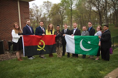 Gardner-Webb Students participate in the model UN.