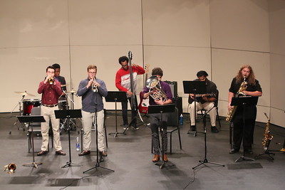 Students of the Jazz Collective Band