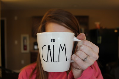 Be Calm and drink coffee! Student Bethany Wilcox shares encouragement for the last few weeks of this semester.