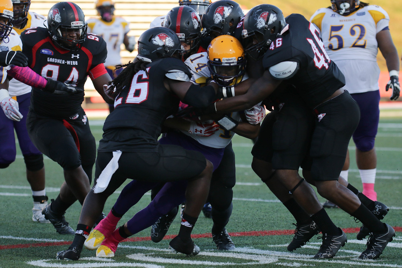GWU Football takes down #14 from Benedict.