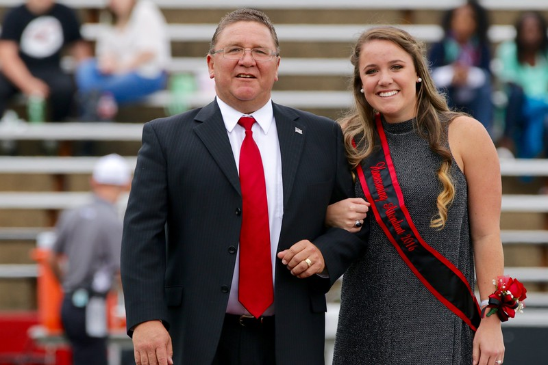 Karin Sastre, won Homecoming Sophomore Court Representative.