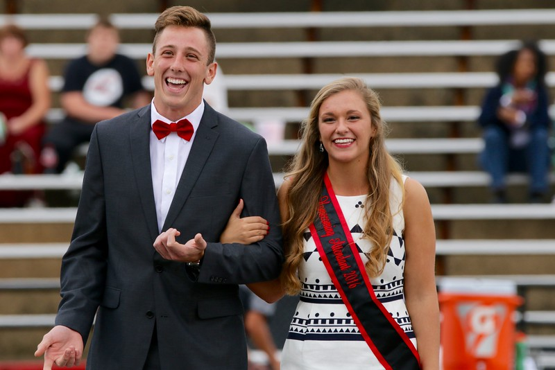 Haley Grace Lowman, won Homecoming Junior Court Representative.
