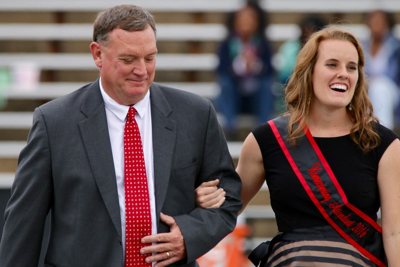 Jesse-Anne Rogers, was one of the four nominees for 2016 Homecoming Queen.