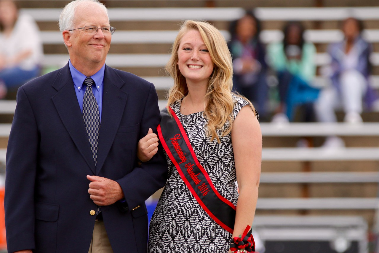 Becca Pittman, was one of the four nominees for 2016 Homecoming Queen.