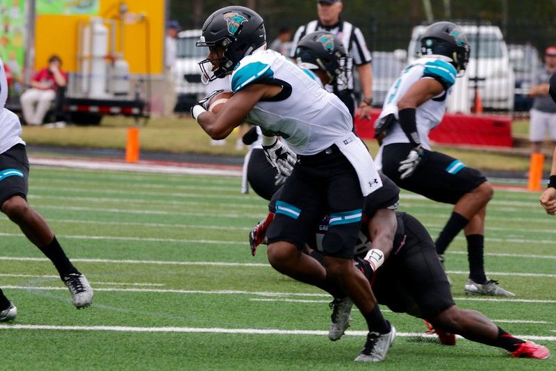 Gardner-Webb attempts to take down Coastal Carolina.