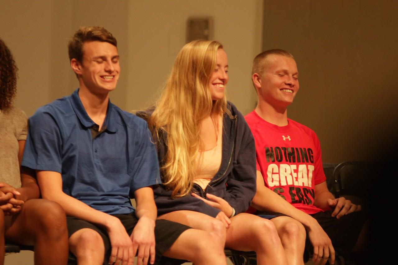 On Friday night, September 30th at 8:00 PM, Hypnotist Thomas Bresadola hypnotised multiple Gardner-Webb students providing a night of laughs for all in attendance.