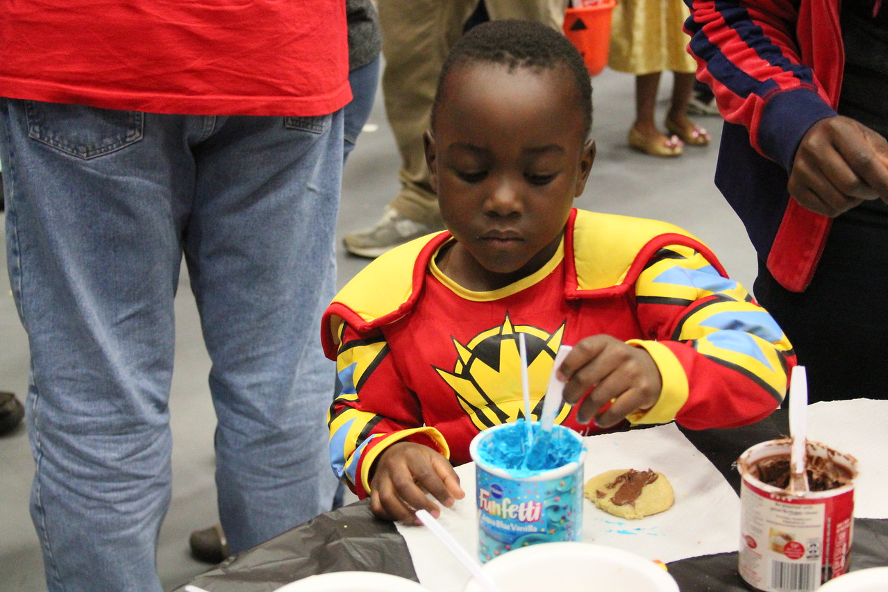 Even Power Rangers need a cookie break