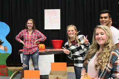 Gardner Webb students love showing kids a good time at OctoberFest