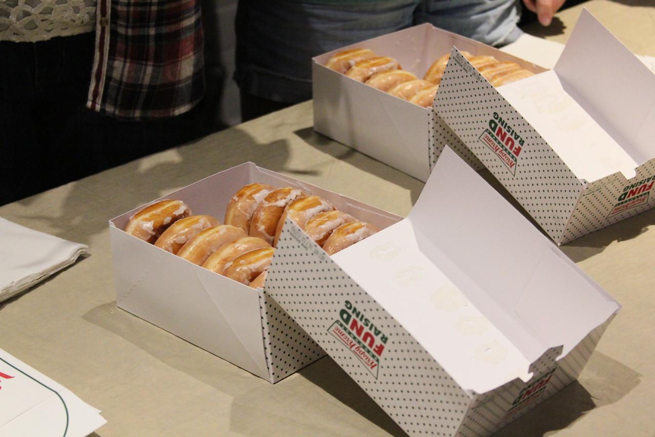 Doughnuts make everything better!
