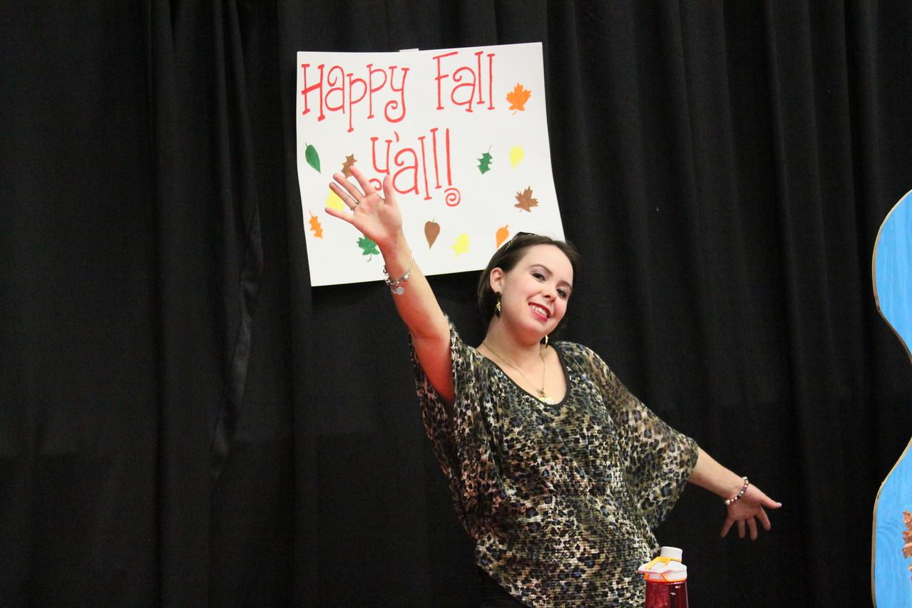 Gardner-Webb Student Caroline really enjoys Octoberfest every year!