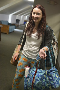 Student, Natalie Procter leaving for fall break