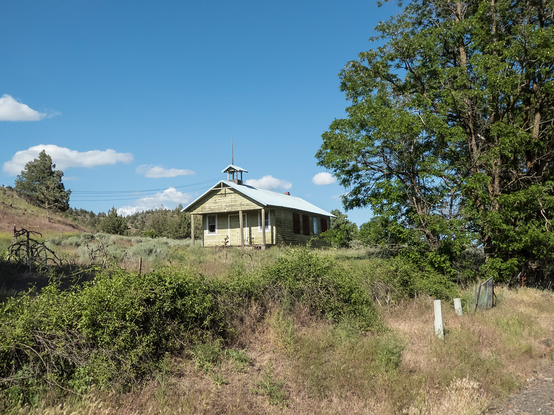 Schoolhouse between Dayville and Mt Vernon, Oregon