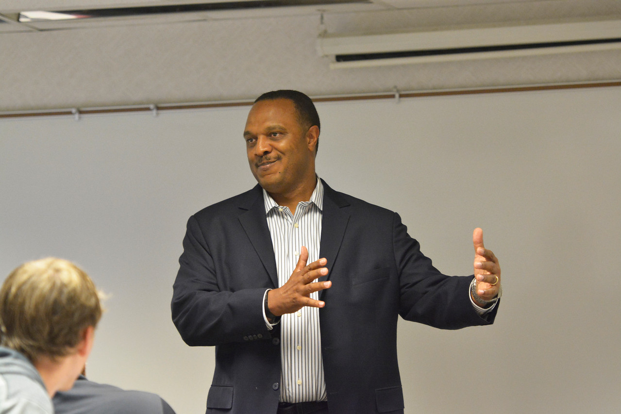 Arbuckle talked about ethical issues that sports are facing.