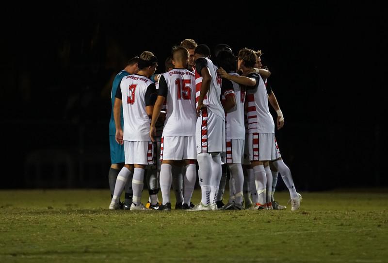 Team's Halftime Huddle
