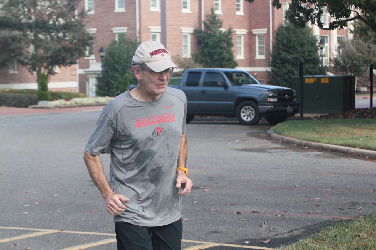 Dr. Bonner running with a purpose