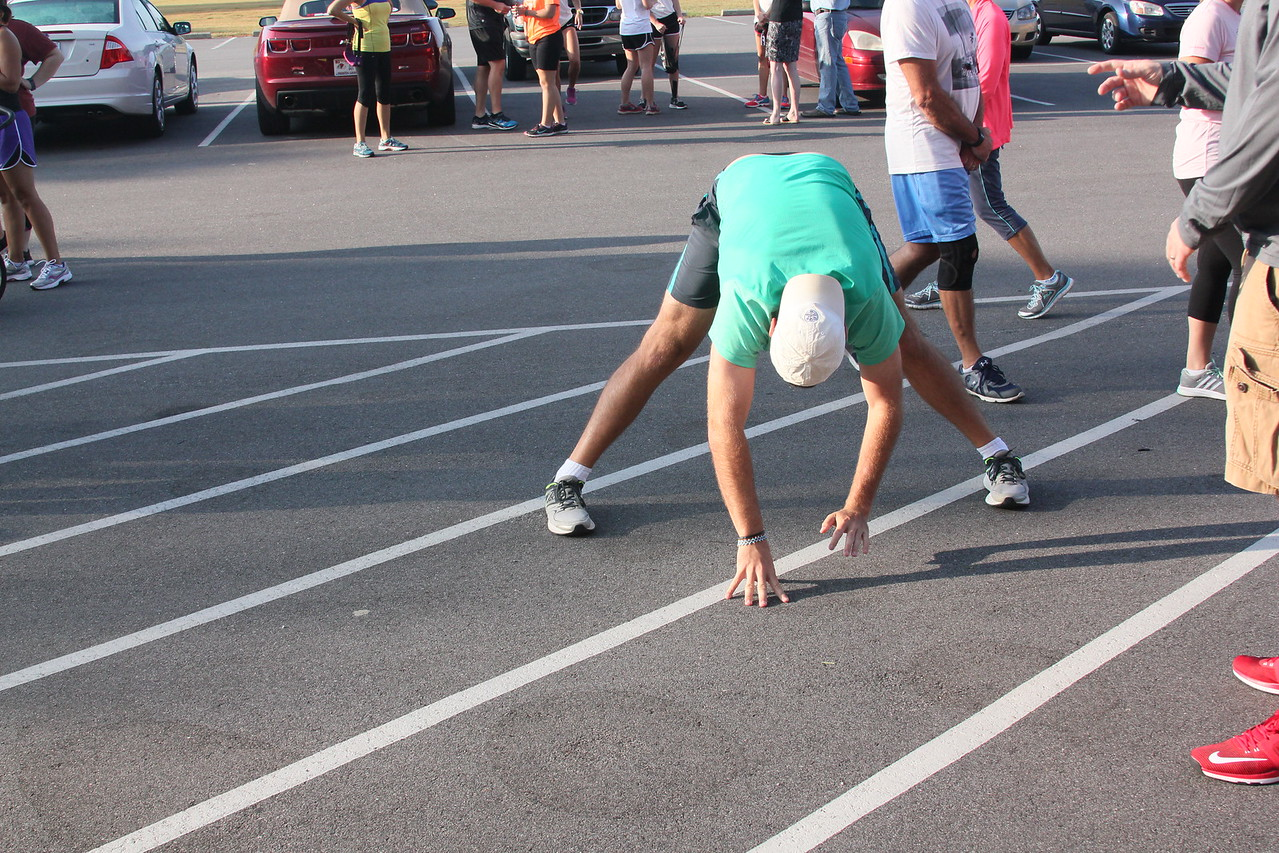Jake Kennedy's Pre-Race stretching routine