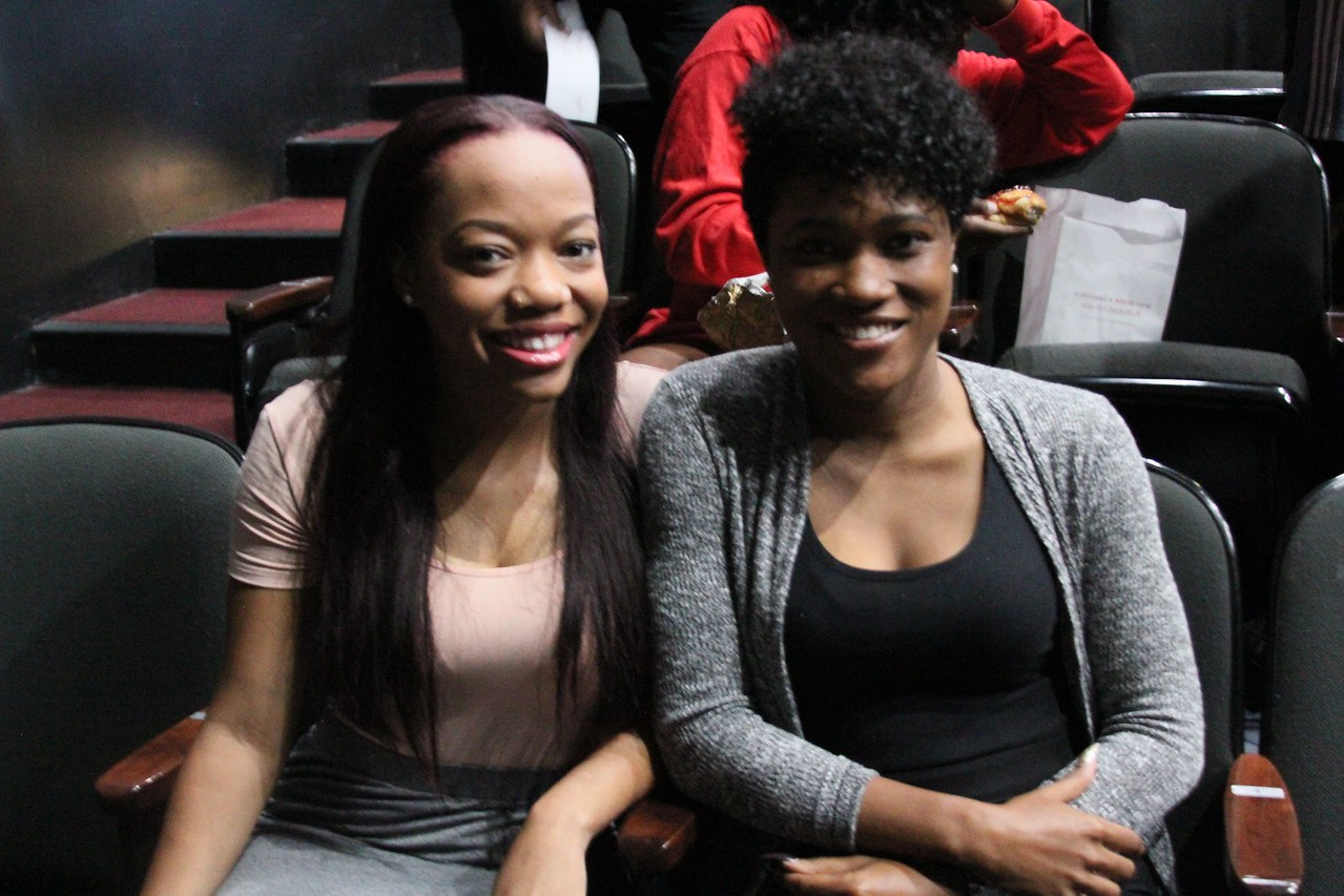 Keaira Green and her VP Tracy Powell are ready to take on elections as they prepare to give their speeches